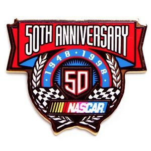 NASCAR 50th Anniversary 1948-1998 Lapel Pin